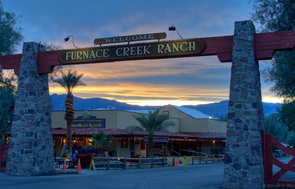 Dinner at Furnace Creek