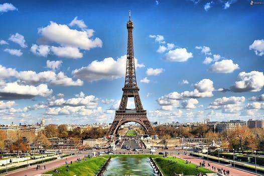 Prvomajske počitnice: Pariz