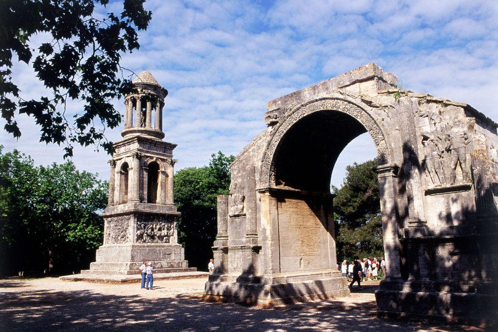 St-Rémy de Provence: rimske umetnine