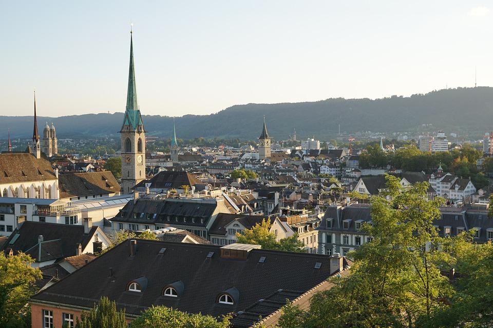Zürich – z nočnim vlakom že za 39 evrov