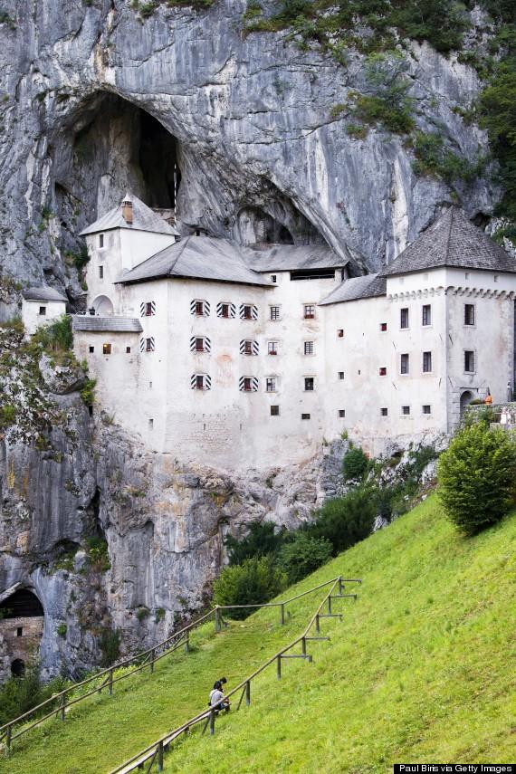 Predjama Castle The castle in the cave