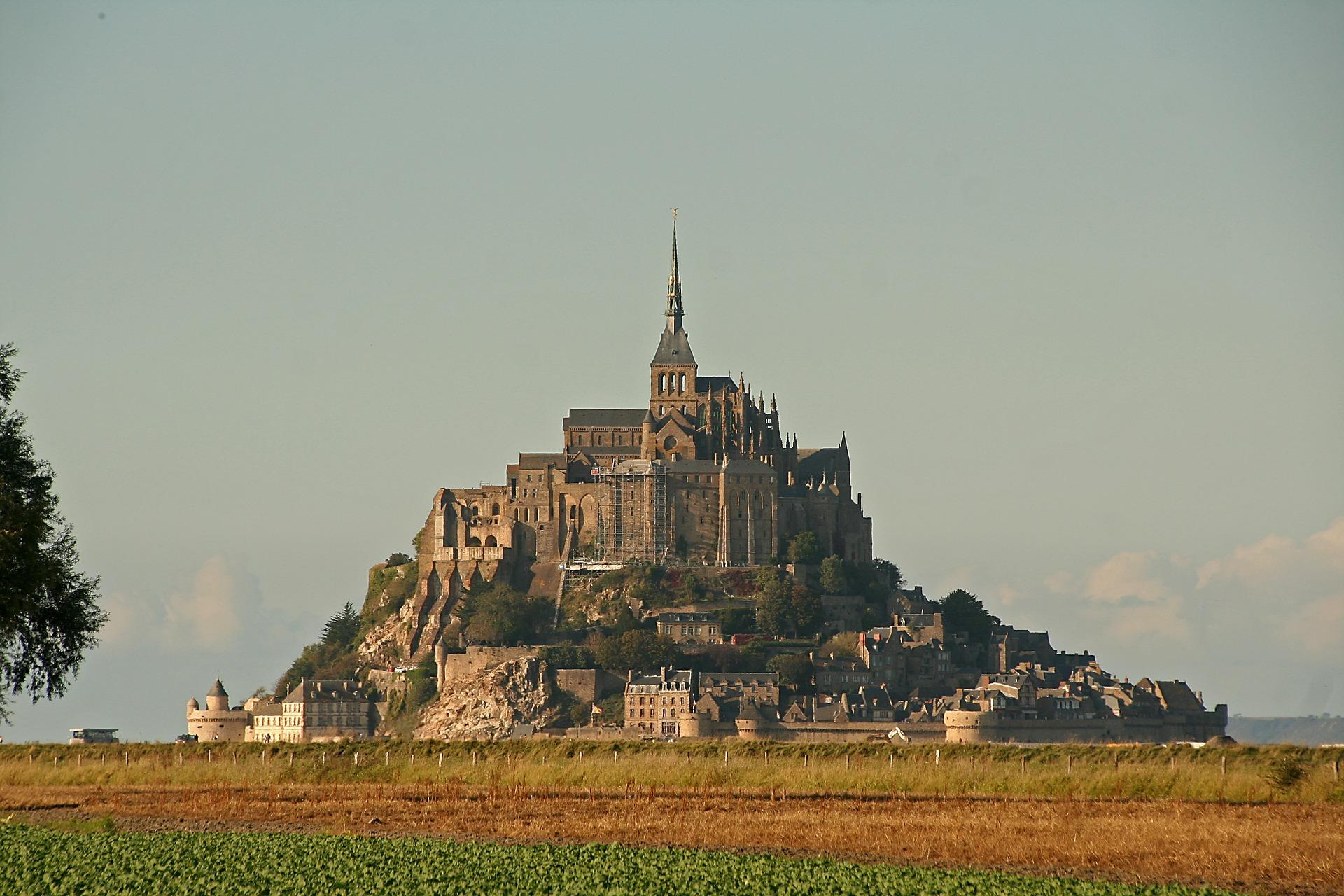 Skrivnostni Mont Saint-Michel