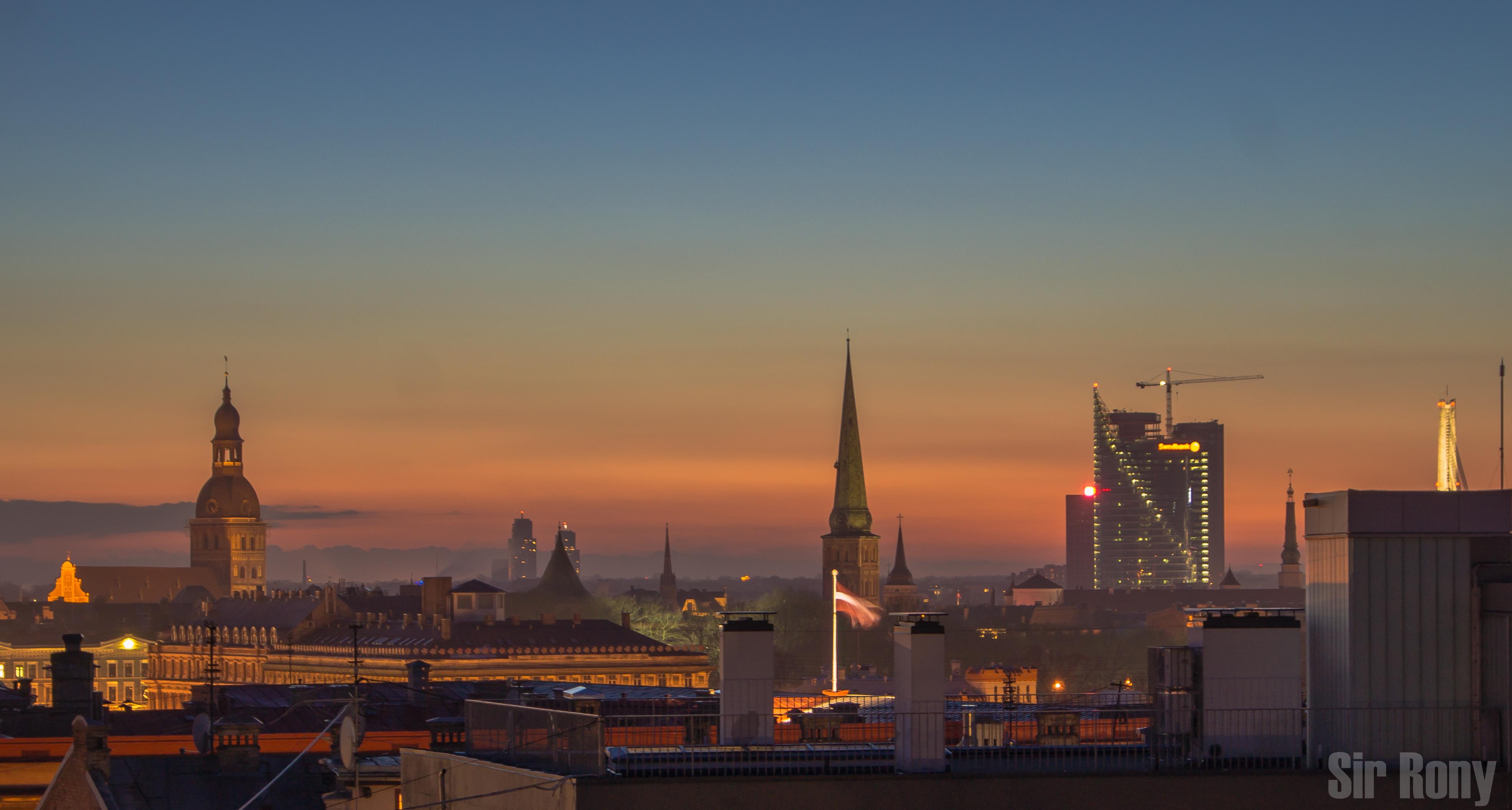 Izlet na Baltik: Riga