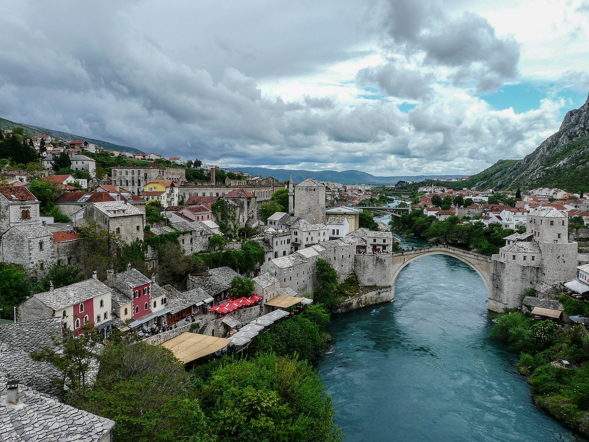 Mostar – dragulj ob reki Neretvi