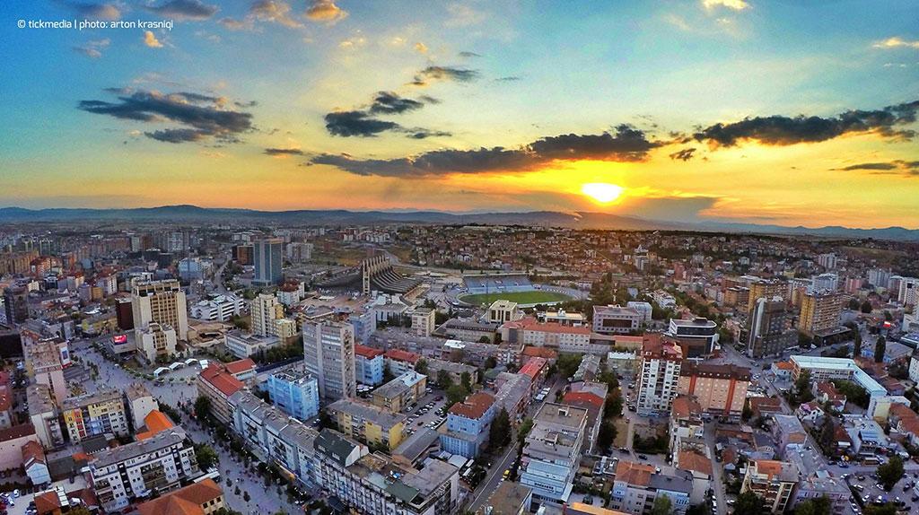 Priština na Kosovu