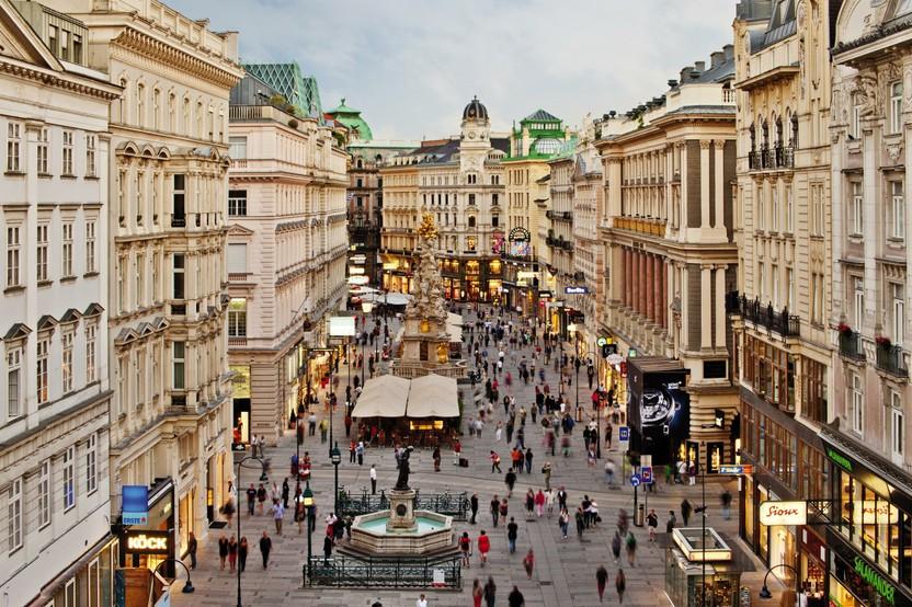 Mestni sprehod po kraljevem Dunaju